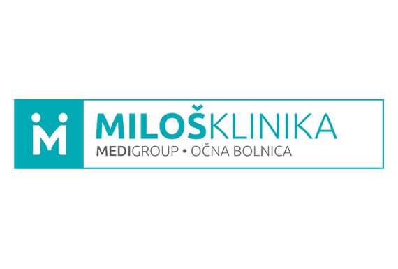 Miloš Klinika  logo